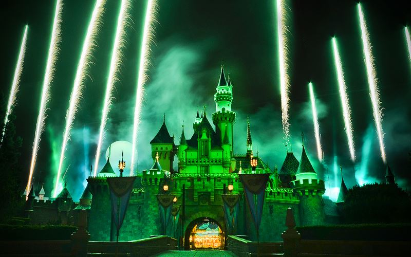 Disneyland is one of the premier haunted attractions in California