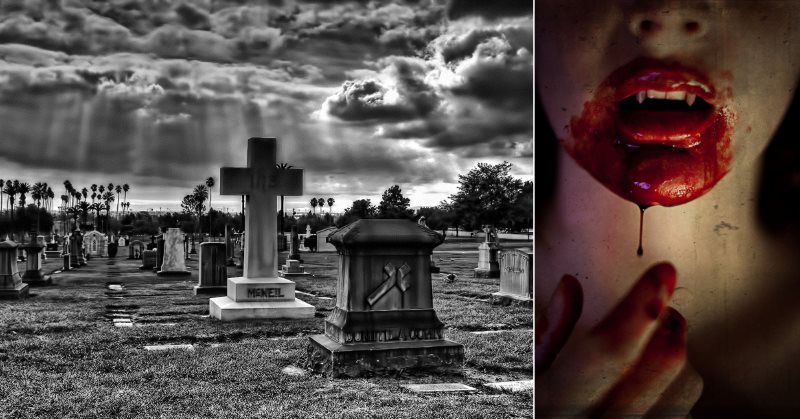 California Cemetery Vampire