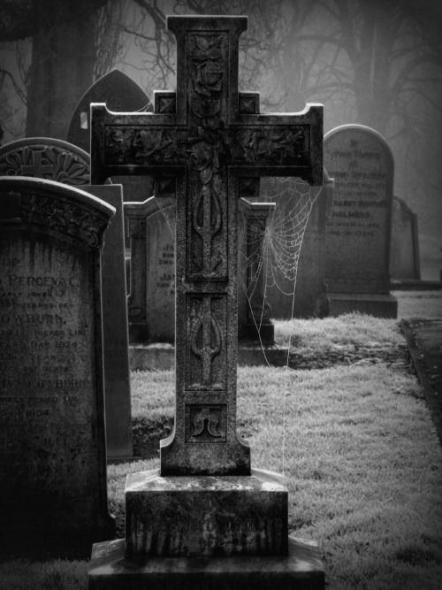 The Hammersmith Ghost - graveyard in England