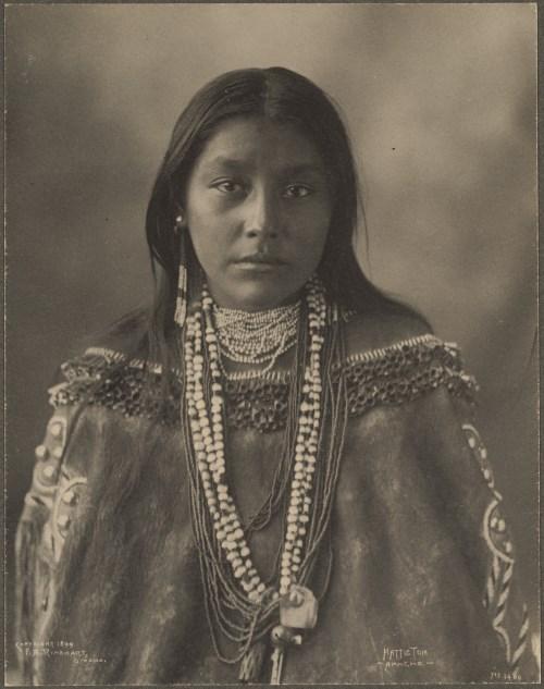 Apache Native American Girl