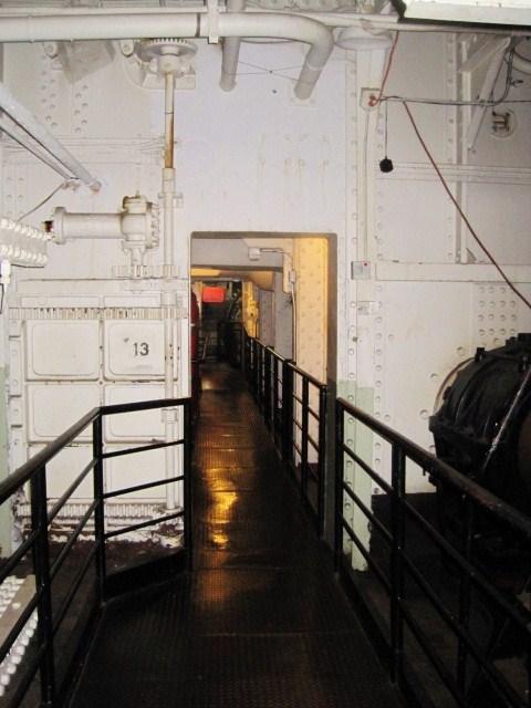 Queen Mary Ship Door 13