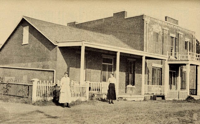 Women Standing Outside The Whaley House