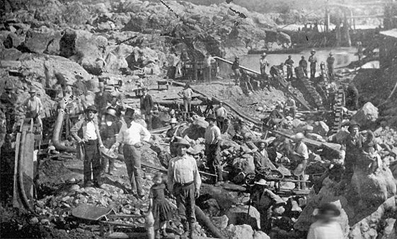 Bodie California Miners