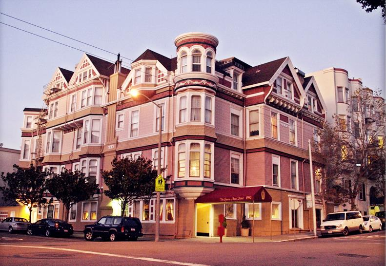 Queen Anne Hotel San Francisco Haunted