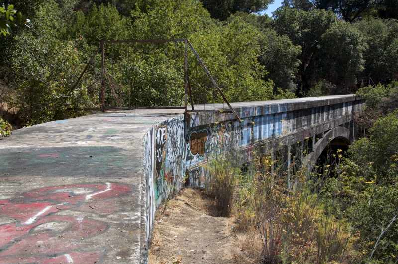 Secret Sidewalk in Niles Canyon California 2
