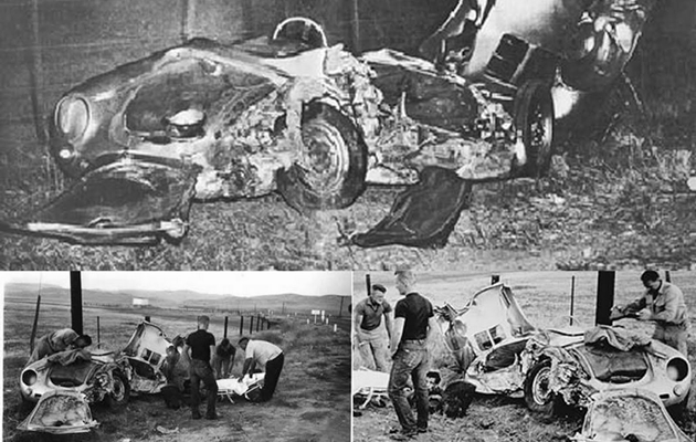 James Dean's death and Little Bastard