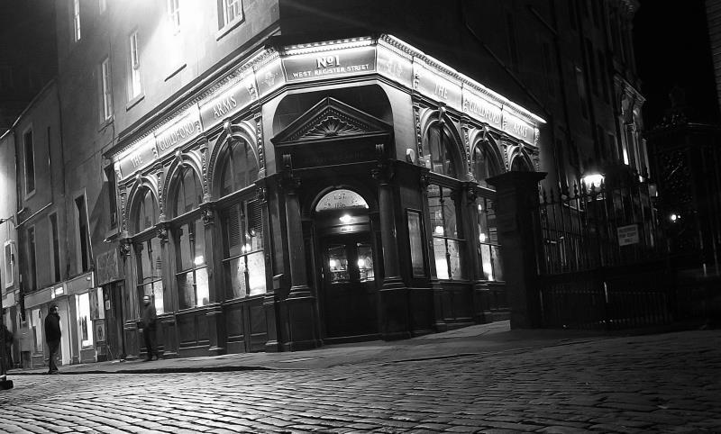 Haunted pub on the corner