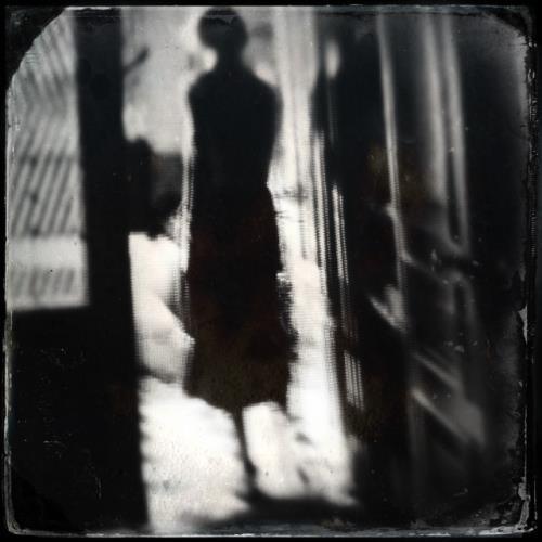 Ghost of woman in doorway