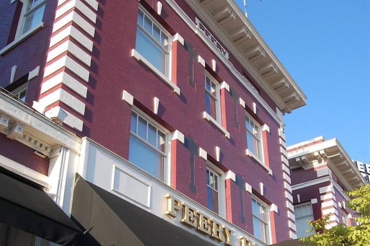 The Haunted Peery Hotel in Salt Lake City