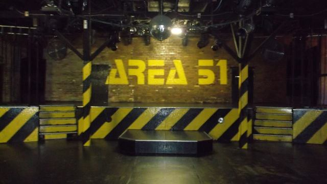 Area 51 Dance Club SLC Stage
