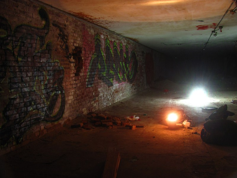 Old Sacramento Tunnels Graffiti