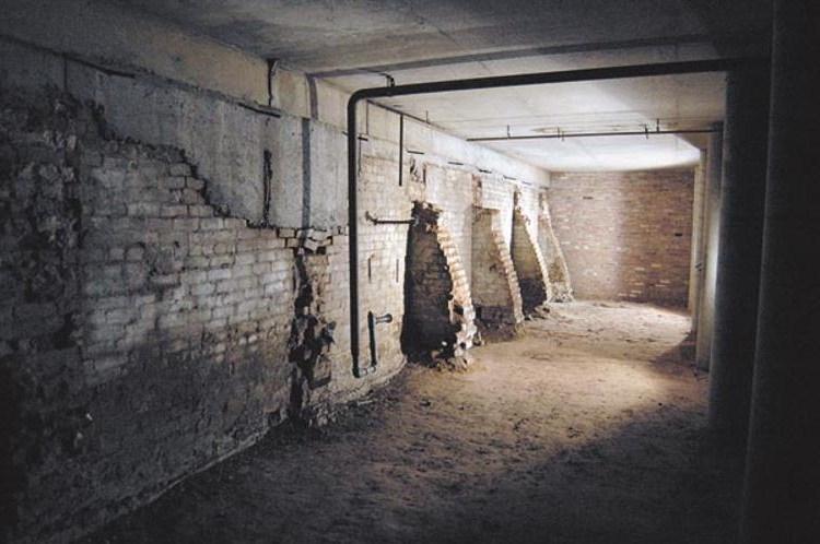 Old Sacramento Tunnels