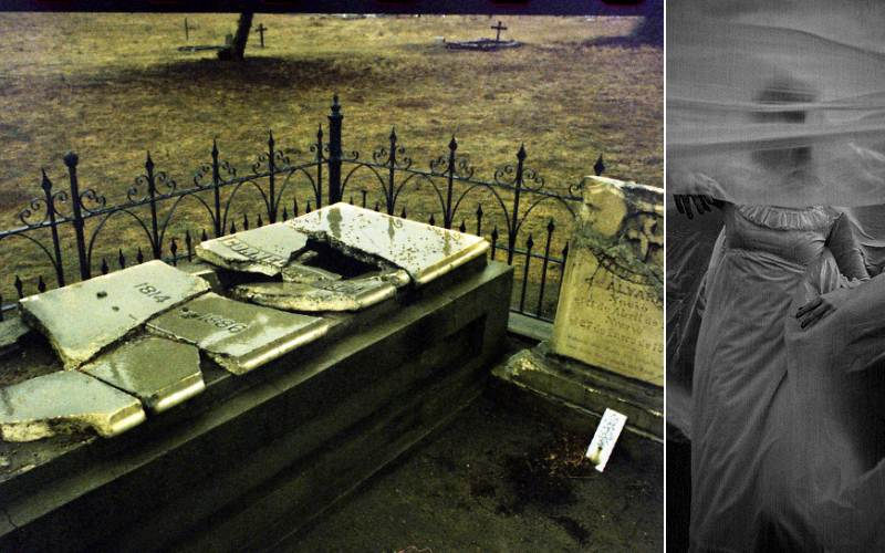 Would You Brave the Drowned Agua Mansa Cemetery?