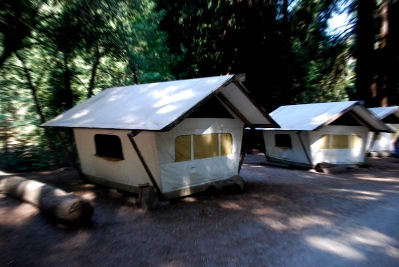 Haunted Fernwood Campground Cabins at Big Sur