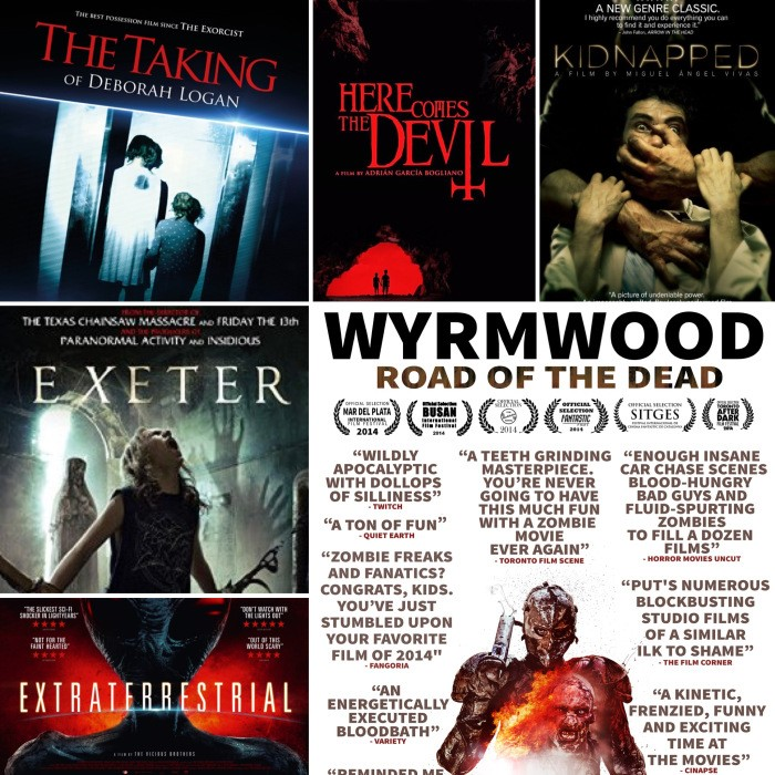 Must see horror movie posters