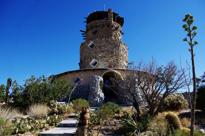 The Desert View Tower in Jacumba