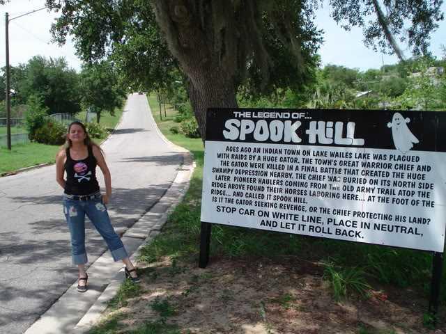 Spook Hill, Lake Wales Florida