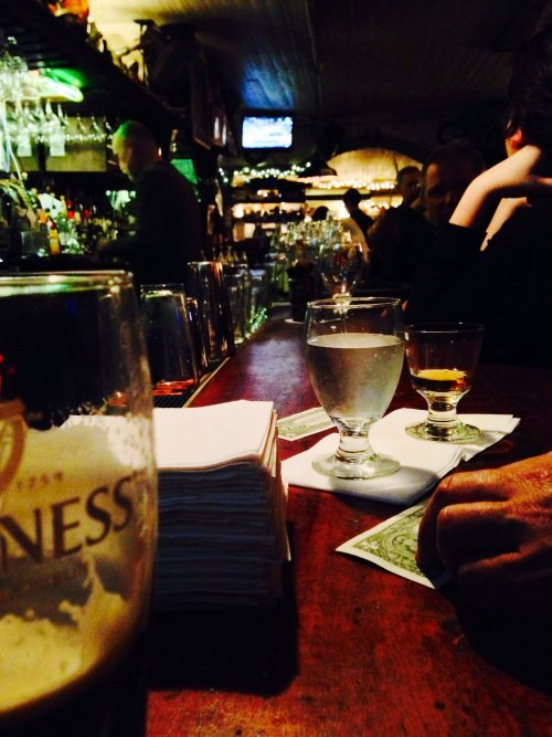 The Haunted Bar of the Ear Inn in New York City