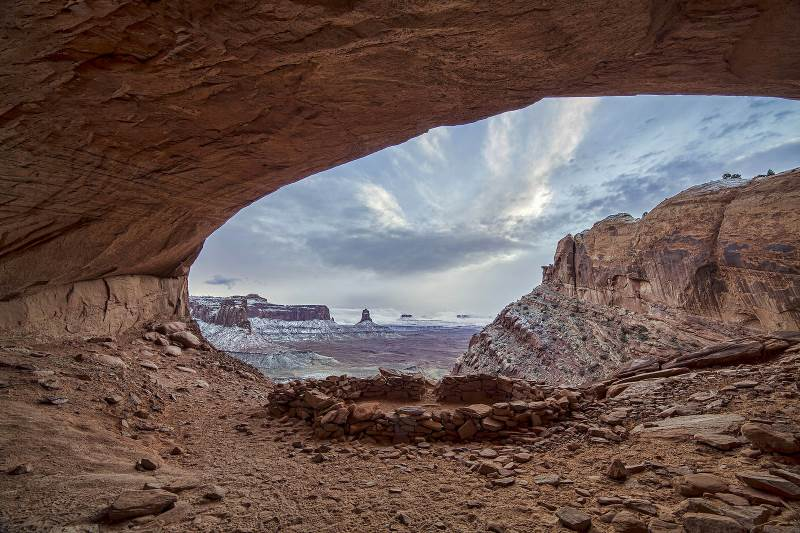 Canyonlands National Park in Moab Utah has haunted campgrounds and is filled with ghosts of the dead