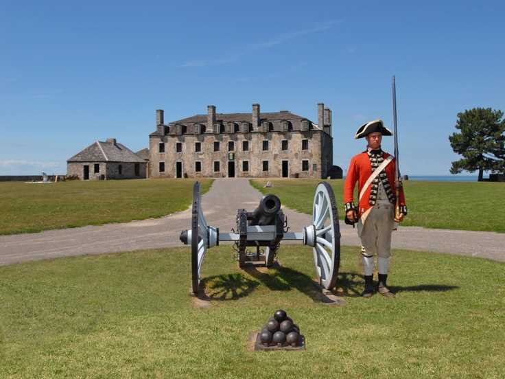 Old Fort Niagara in New York
