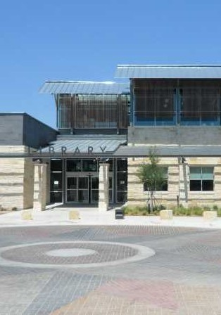 The haunted Patrick Heath Public Library in Boerne Texas