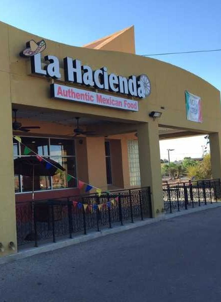 An apparition haunts the La Hacienda Restaurant in El Paso, Texas.
