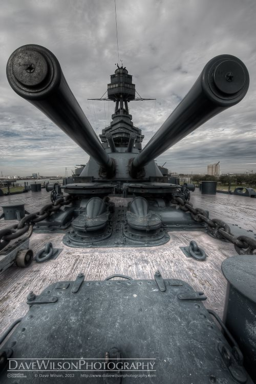 Military sites are often haunted attractions in Texas, and the USS Texas is no exception