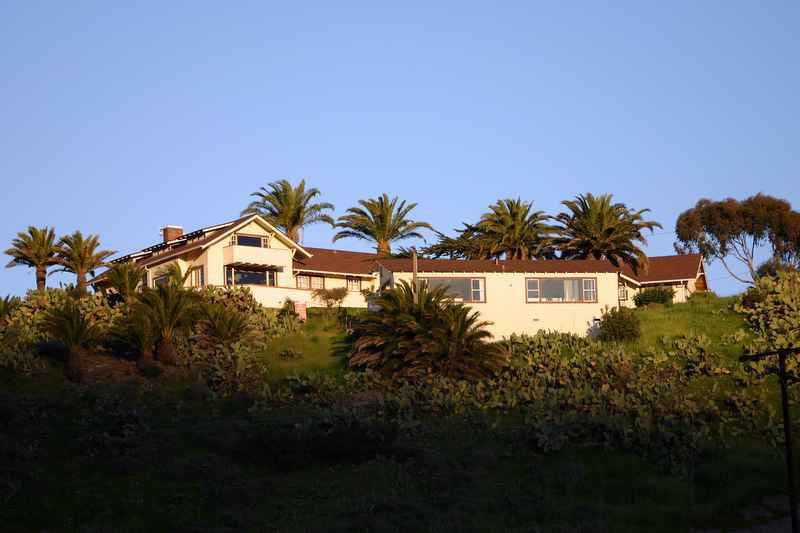 Located in Two Harbors on Catalina Island, the Banning House lodge is a known haunted hotel...