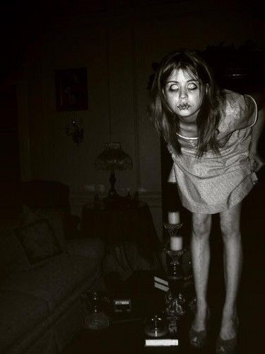 The frightening ghost of a young girl has been seen numerous times at the Fallon Hotel in Columbia, California...