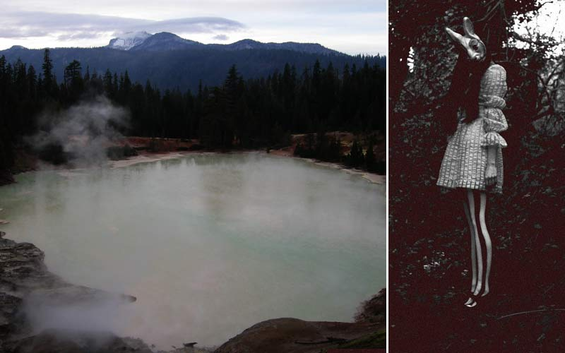 Paranormal Activity Near The Boiling Springs at Mt. Lassen