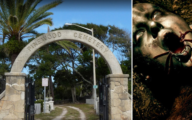 A Myriad of Horrors Haunt This Old Florida Cemetery