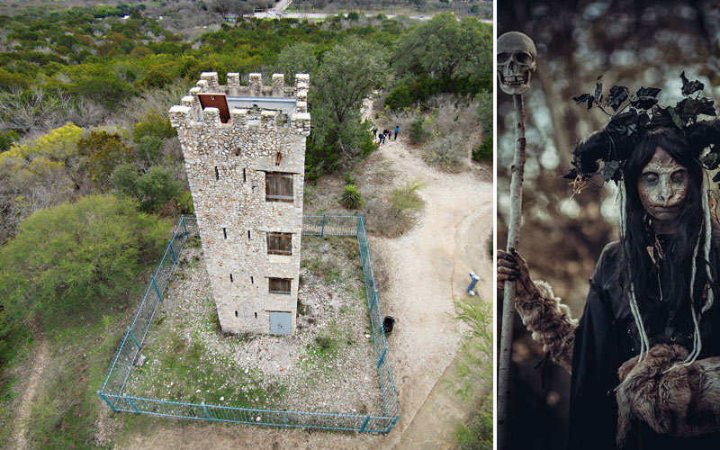 Haunted San Antonio: Sinister Shadows at Comanche Lookout Park