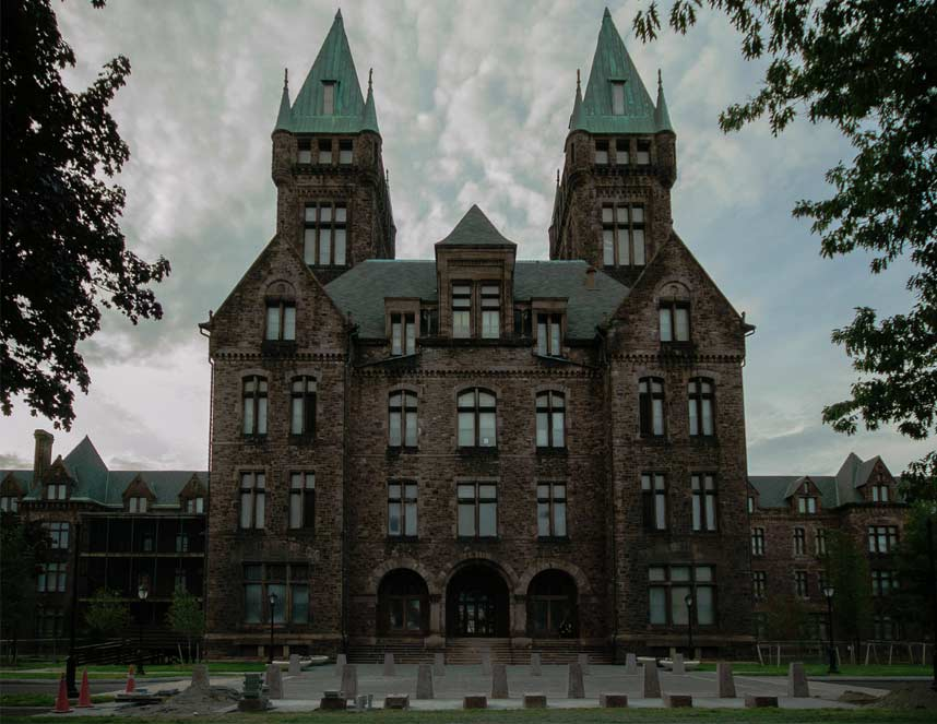 Buffalo State Asylum for the Insane is very, very haunted.