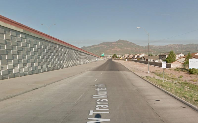 Sometimes, evil finds a way to inhabit a stretch of road... like the Transmountain in El Paso.