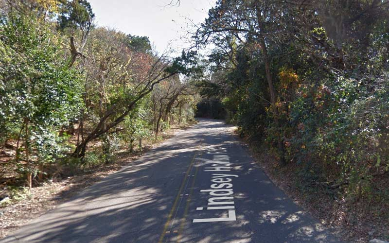 Lindsey Hollow Road is believed to be the most haunted road in all of Texas.