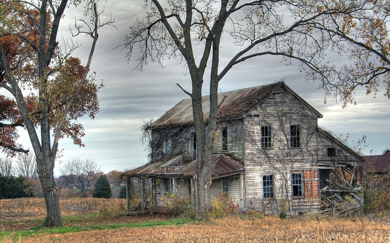 The Ghost of a Serial Killer Lurks Within This Abandoned Farmhouse