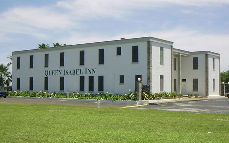 The Queen Isabel Inn isn't the most breathtaking building on the outside, but it's what allegedly lurks inside that has people making the trip to stay here.