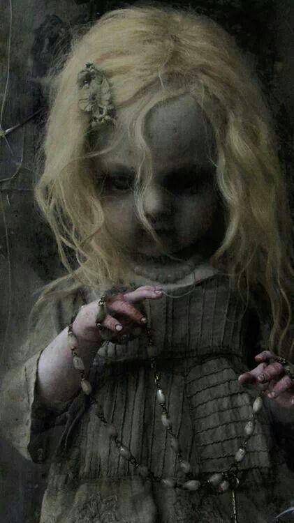 What a weird little doll.