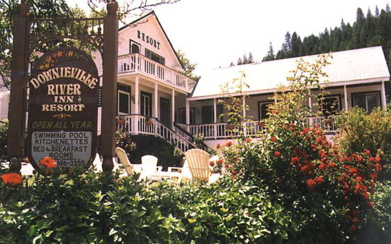 Strange Creature Visits Girl at Night at the Downieville River Inn