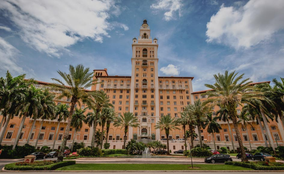 Some believe the paranormal entities here found their way inside Biltmore Hotel while the building was used as a hospital during World War 2.