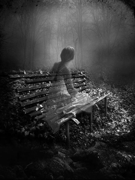 Ghost Girl in the Bradenton Cremation Gardens