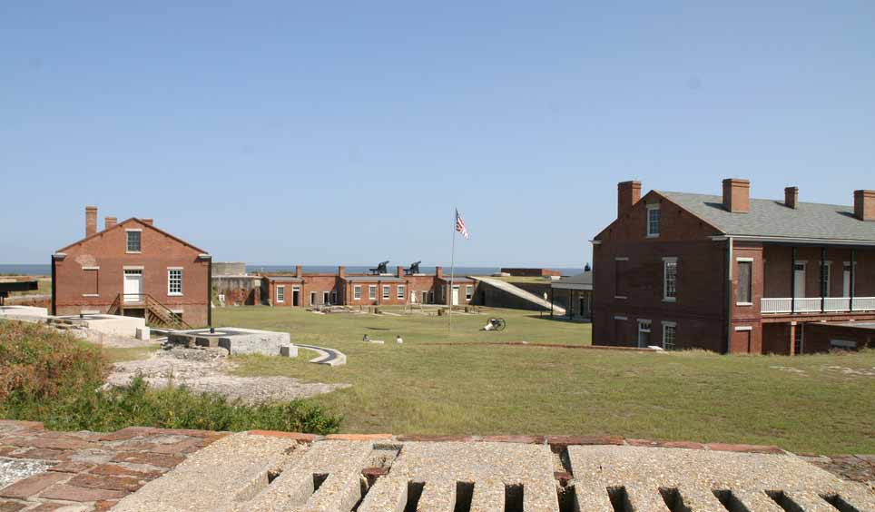 Fort Clinch is the type of place where you just get a strange feeling as you get closer and closer. A lot of what happened here has been documented in history books, but some of it hasn't. Yet.