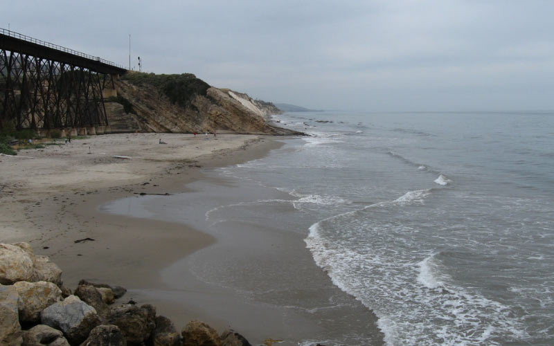The Gaviota State Park in Goleta is home to one of the most haunted beaches in all of America. Or so they say.
