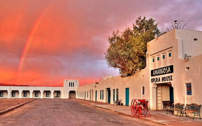 Death Valley Junction's home to this old fashioned Opera House, where you can see a lot more than you bargained for.