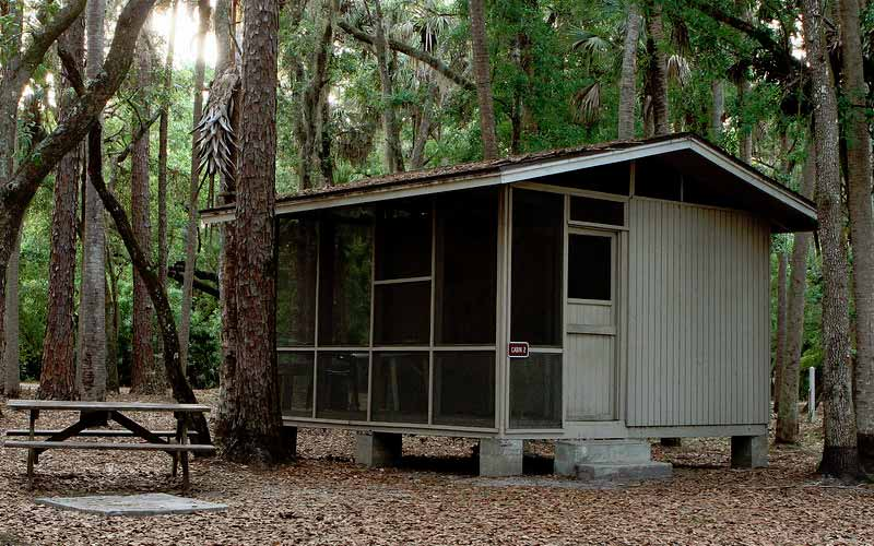The Hontoon Island Campground is a fun place to spend time, especially if you enjoy the paranormal.