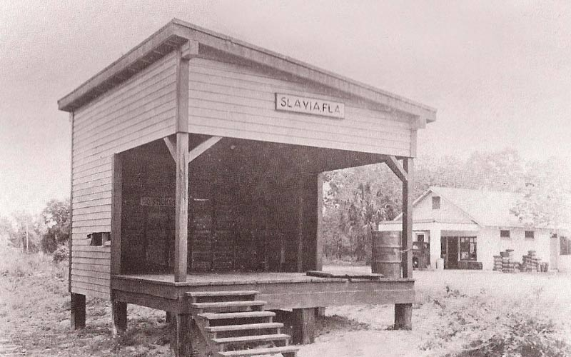Slavia is a creepy old ghost town in Florida. All that remains are old photographs, maybe some hints of days gone by, and terribly menacing entities.