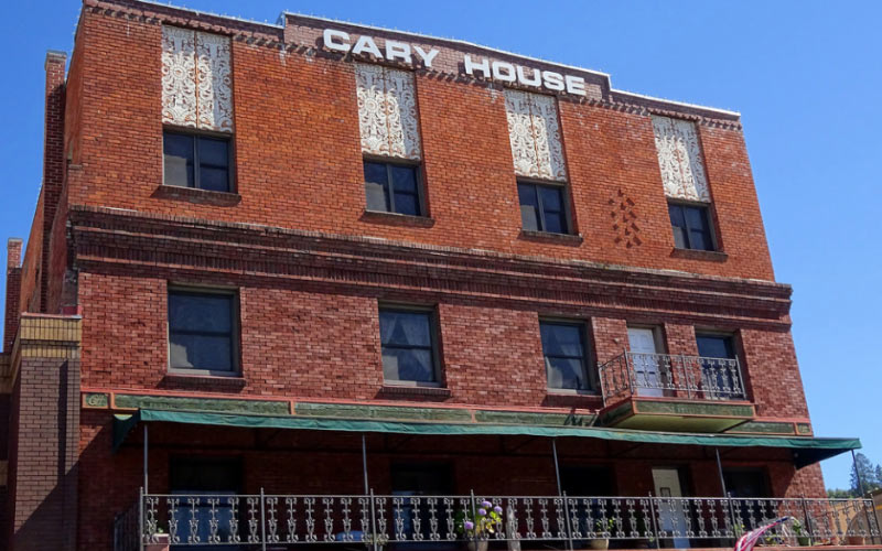 The Cary House Hotel in Placerville is beyond haunted, and it makes most haunted places in California seem tame.