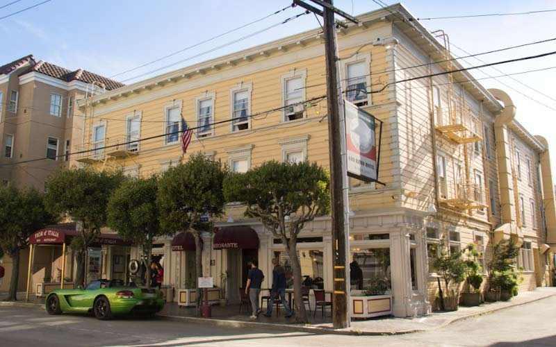 San Remo Hotel in San Francisco is home to bone-chilling entities.