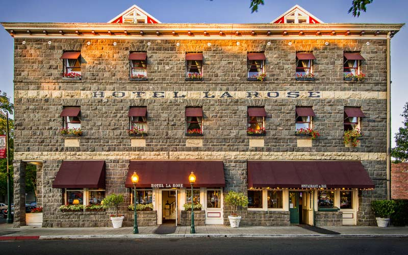 Hotel La Rose is a beautiful building, but what's inside may not be so pretty, just ask any Santa Rosa, California resident who has encountered the ghosts.