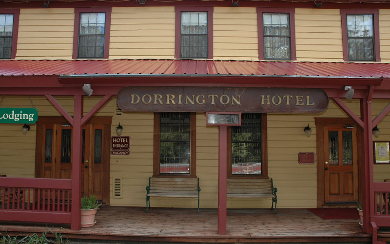 The Shape Shifting Ghost at The Dorrington Hotel